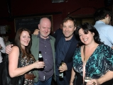 <h5>Alex McDonnell and Ardal O'Hanlon are pictured with Andrea Dewsbury and Liz Lewis.</h5>