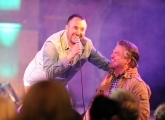 <h5>Abandoman, aka Rob Broderick on stage.</h5>