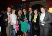 <h5>Mary Leyne from the Aisling Project is pictured 2nd right with family and friends.</h5>