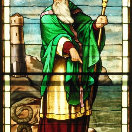St Patrick - window detail