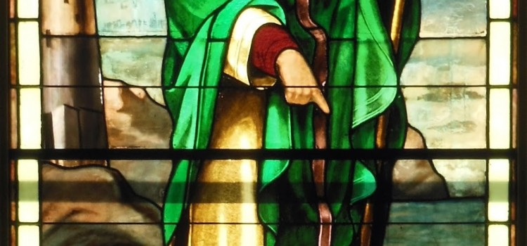 St Patrick - window detail